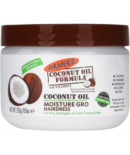 PALMER'S COCONUT OIL FORMULA COCONUT OIL MOISTURE GRO HAIRDRESS 250 G